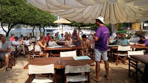 Crew in Corfu