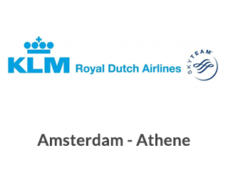 Amsterdam Athene KLM Royal Dutch Airlines