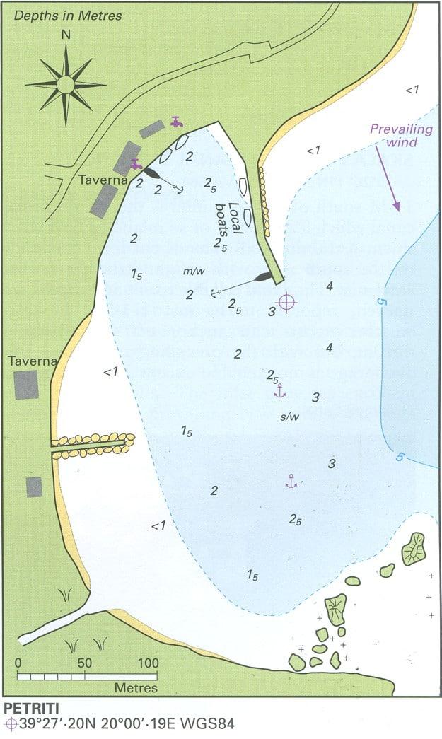 Petriti map