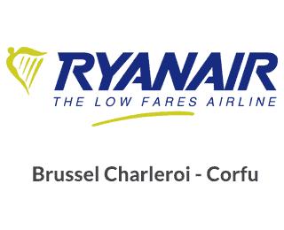 Ryanair Brusel Charleroi