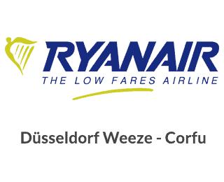 Dusseldorf Weeze Corfu