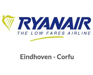 Eindhoven Corfu Ryanair