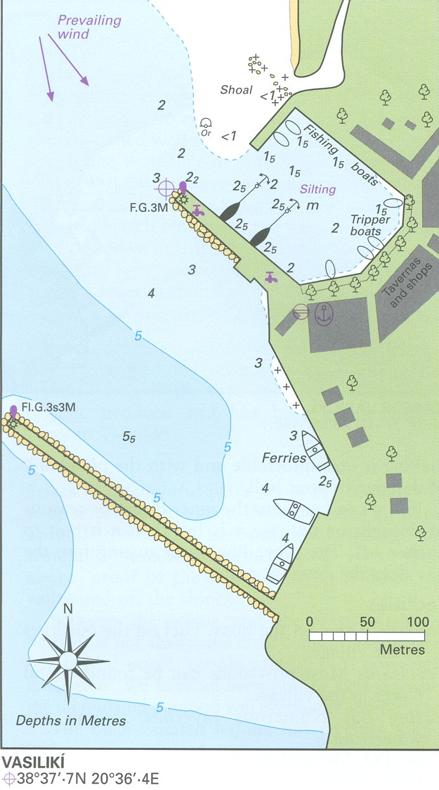 Vassiliki kaart