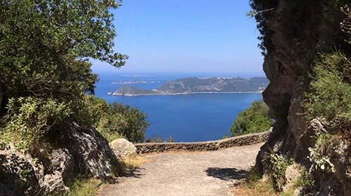 Corfu trail bewandelen
