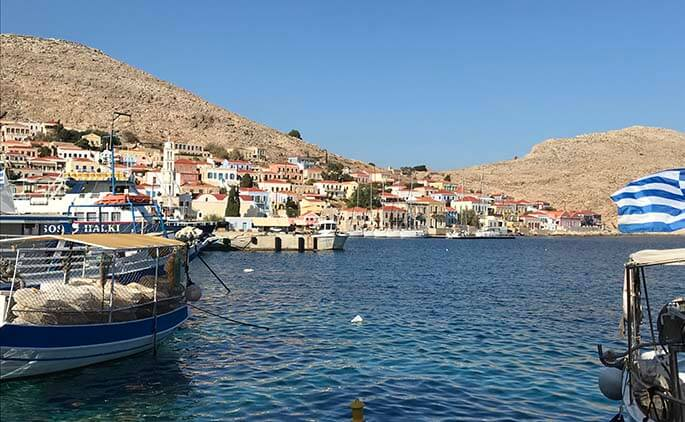 Zeilen van Antalya naar Kos