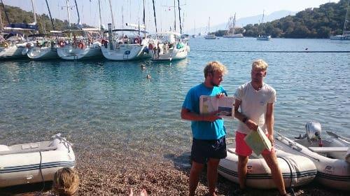 Flottieljezeilen Corfu