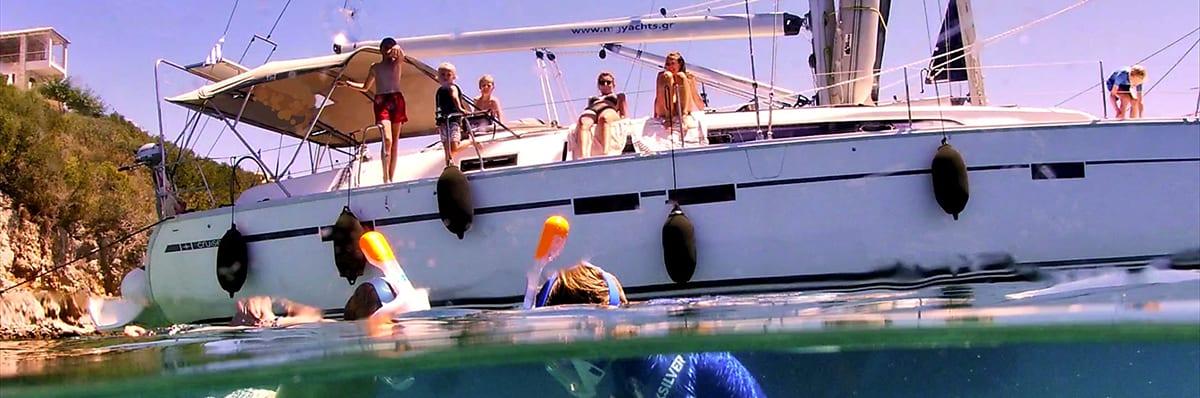 We zien regelmatig dolfijnen, soms een paar soms heel veel