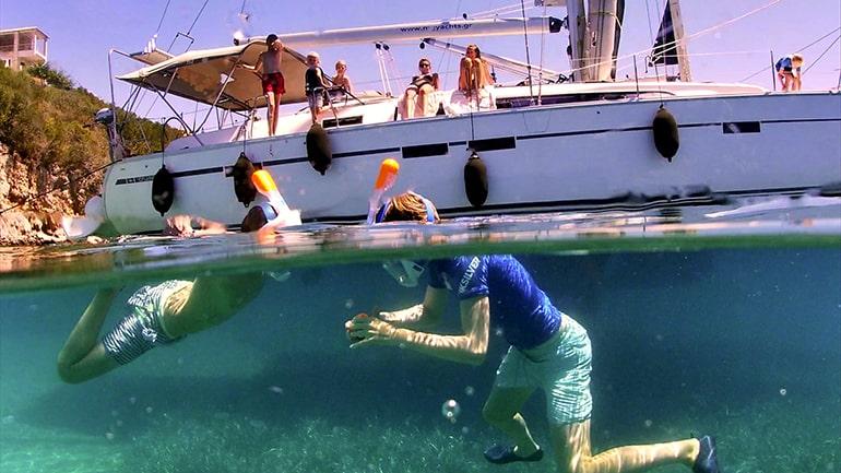 We zien regelmatig dolfijnen